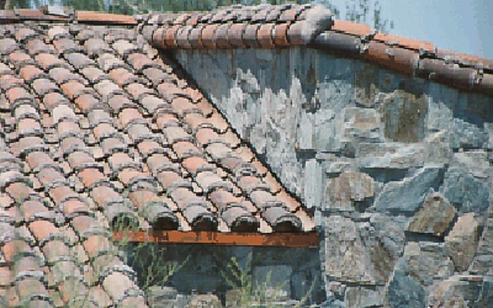 Roofing Closeup